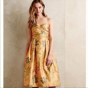 NEW Anthro James Coviello Botanica Dress Size 8